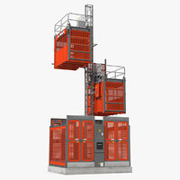 3D heavy duty construction lift