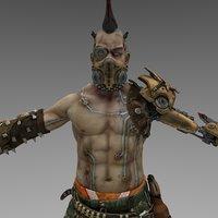 anarki character games 3D model
