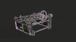 3D trolley logs model