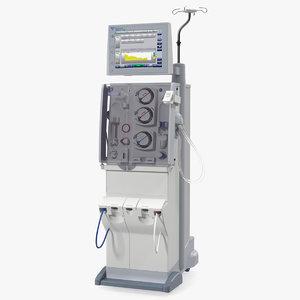 3D fresenius 5008 cordiax dialysis