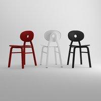 3D model chair furniture