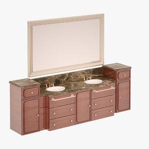 3D washbasin set