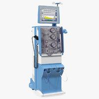 3D dialysis machine generic model