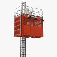3D rack construction lift