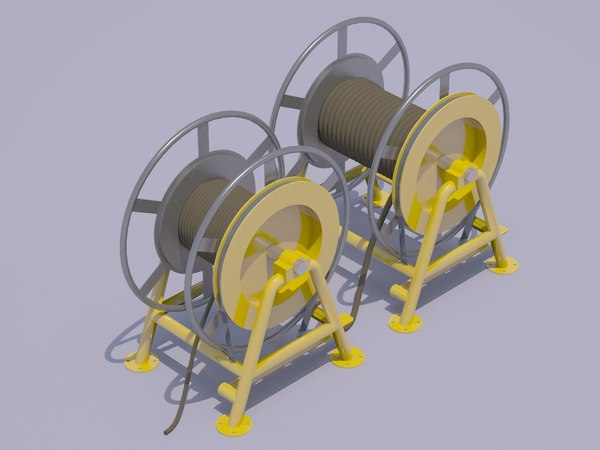 3D rope winches