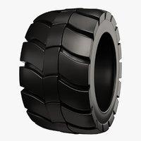 3D industrial tire