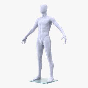 male mannequin man model