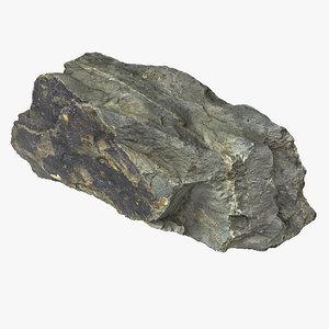 rock realistic 3D model