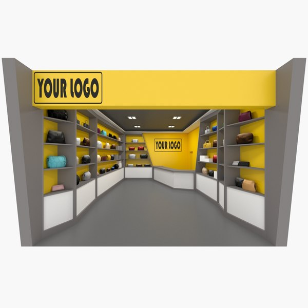 3D store handbags