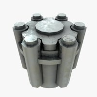 engine greeble screw model