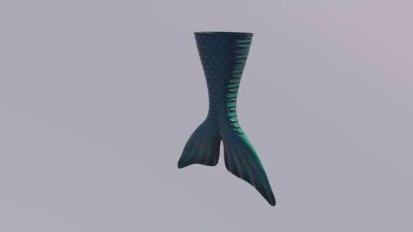 tail mermaid 3D model