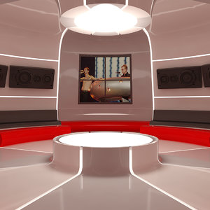 3D hobby center interior model