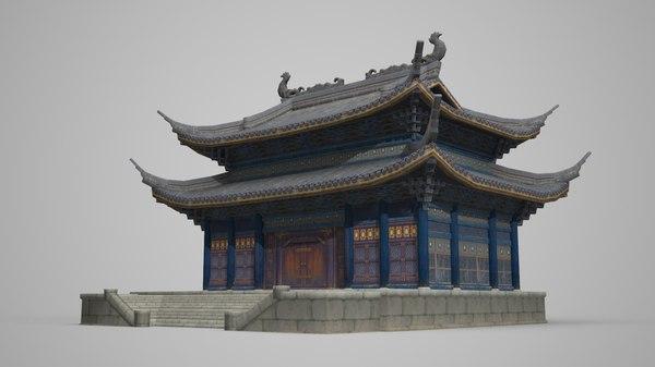 3D model large palace council