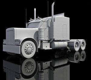 3d american truck model