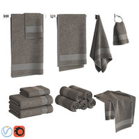 Gray Towels Set