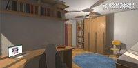 3D model children s room -