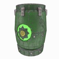 Mysterious Barrel