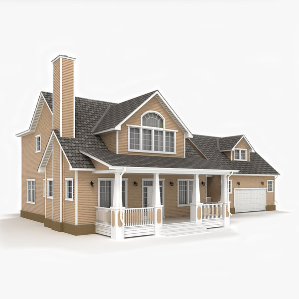 two-story cottage 3ds