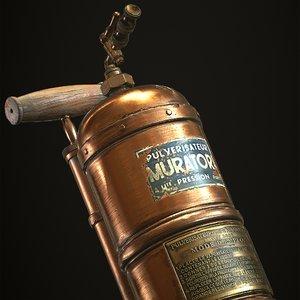 3D vintage sprayer model