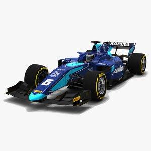 3D dams 6 f2 race car