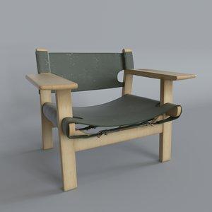 3D spanish chair designer