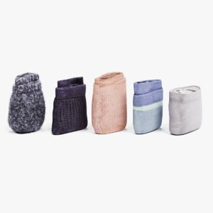 folded socks set 3D