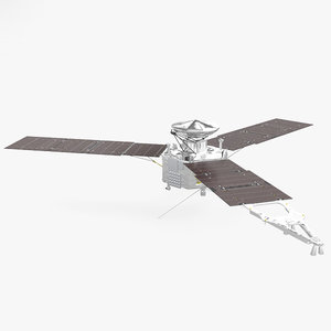 juno spacecraft space model