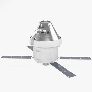 orion spacecraft space 3D model