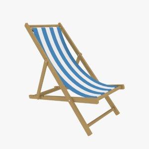 3D sling chair