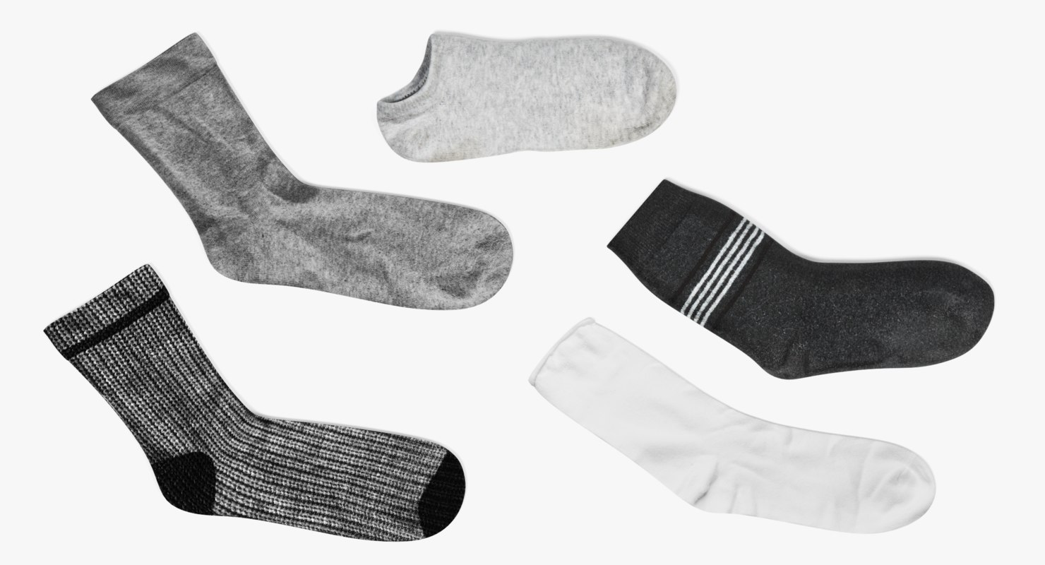 3D socks set