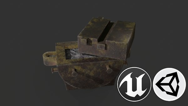 foundry pbr 3D model