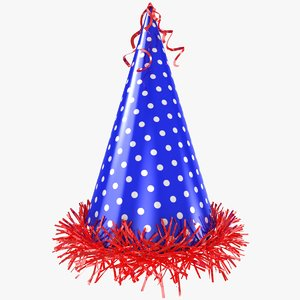 3D model party hat