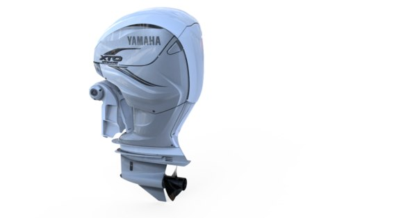 yamaha outboard 3D model