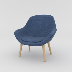 armchair interior model