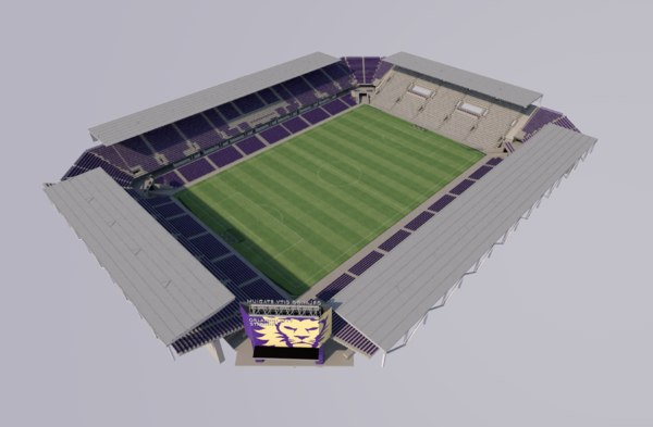 orlando city stadium 3D
