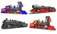 Steam Locomotive Trains