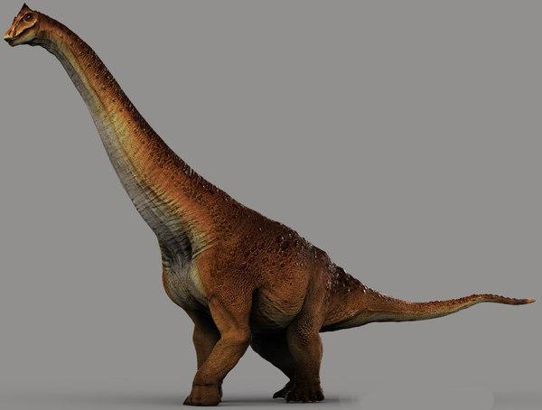 3D sauropods model