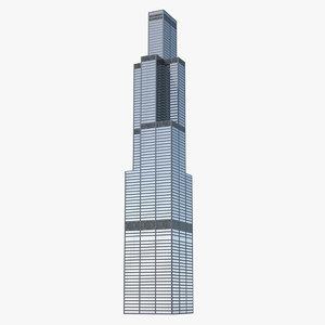 3D skyscraper generic model
