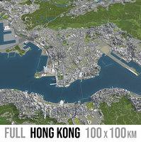 Hong Kong - vollständige Sammlung von Städten und Vororten