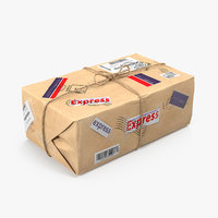 3D mail package packing