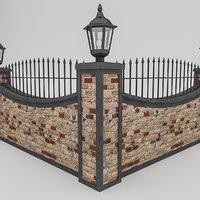 garden wall 3D