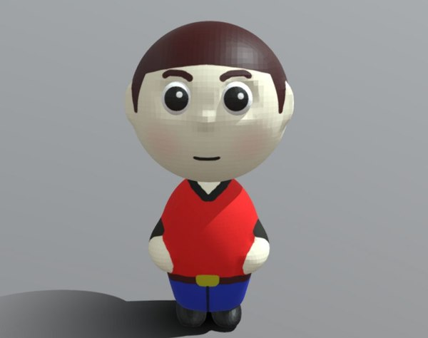 person generic 3D