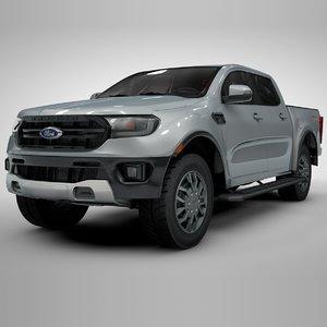 3D ranger 2019 silver l121
