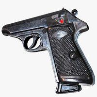 gun pistol model