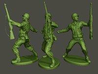 American soldier ww2 grenade A1