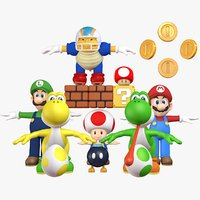 Mini Collection Pack Super Mario World Assets