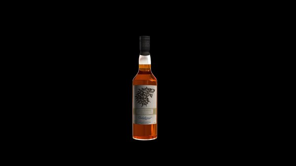 3D whisky model