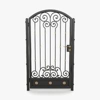 wrought iron gate 06 model