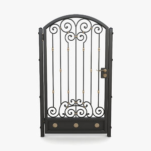 wrought iron gate 06 model