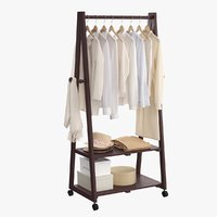 realistic clothes rack 2 model